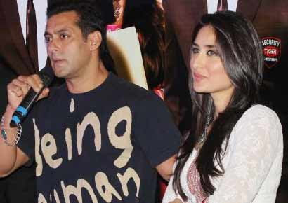 <i>Bodyguard</i>'s cast- Salman Khan and Kareena Kapoor