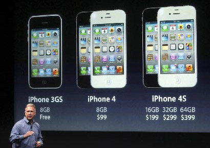 Apple iPhone 4S announced; sports an A5-Chip and an 8MP ...