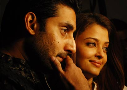 Aishwarya and Abhishek Bachchan