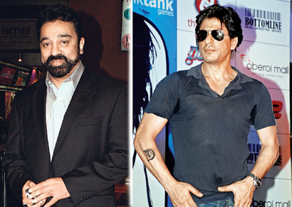Kamal Haasan roots for Shah Rukh Khan to remake Vettaiyaadu Vilaiyaadu