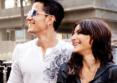 Kunal Khemu with Soha Ali Khan