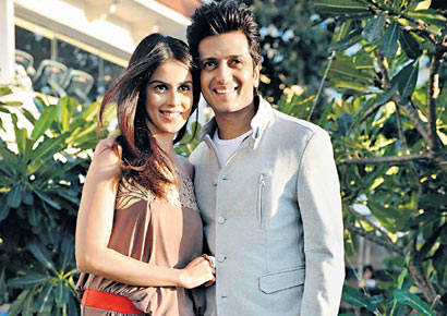Genelia D�Souza and Riteish Deshmukh