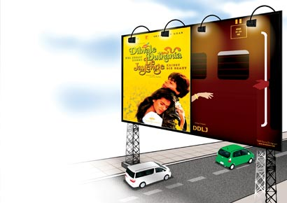 The minimalist posters <i>DDLJ</i> alongside the original posters