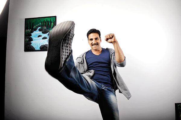 The many moods of Rowdy Rathore Akshay Kumar    DNA