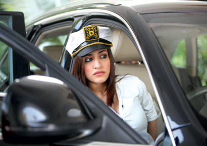 Kainaz Motivala as seen in <i>Challo Driver</i>