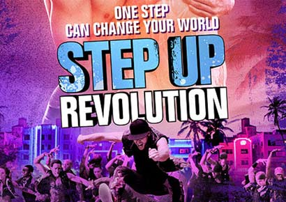 A poster of <i>Step Up Revolution</i>