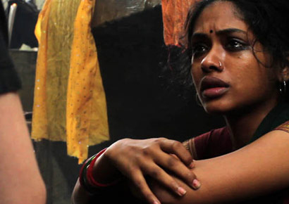 A still from <i>Delhi In a Day</i> of Anjali Patil as Rohini