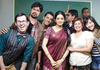 A still from <i>English Vinglish</i>