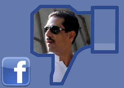 Rebert Vadra had first posted his clarification on Facebook
