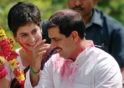 Robert and Priyanka Vadra