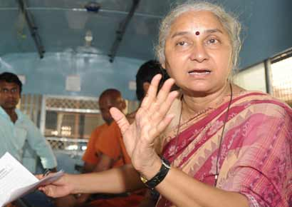 Social activist Medha Patkar came down heavily on the Bihar chief minister for announcing the river-interlinking plan without consulting people.