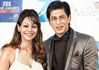 Gauri with Shah Rukh Khan