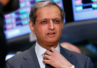 Vikram Pandit gives an interview on the floor of the New York Stock Exchange June 18, 2012.