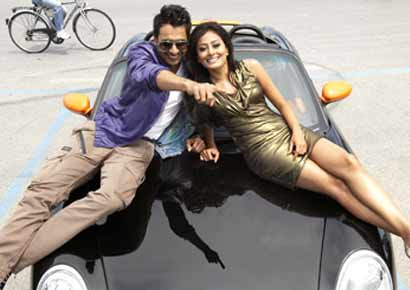 A still from <i>Ajab Gazabb Love</i>