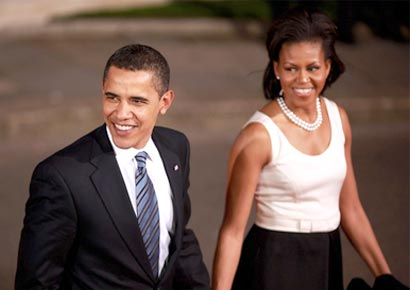 Barack Obama with Michelle