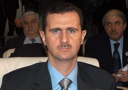 A file photo of Bashar al-Assad