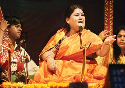 Shubha Mudgal has no problem if some Diwali concerts feature popular songs