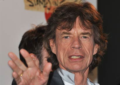 A file photo of Mick Jagger
