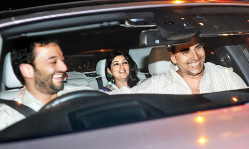 Twinkle with Akshay Kumar