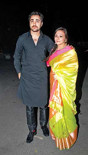Imran Khan with Avantika Malik