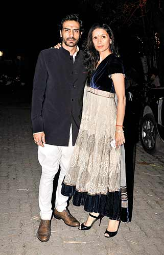 Arjun Rampal with Mehr