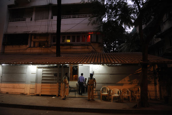 Raj Thackeray's residence at Dadar