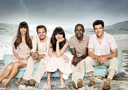 <i>New Girl</i> cast