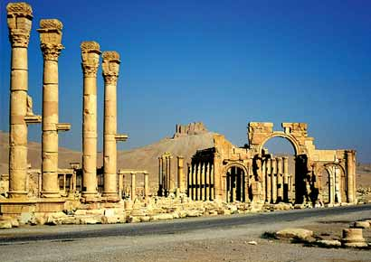 Palmyra, an ancient city in Syria
