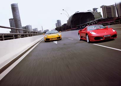 Ultimate Drive, Marina Bay Sands Hotel