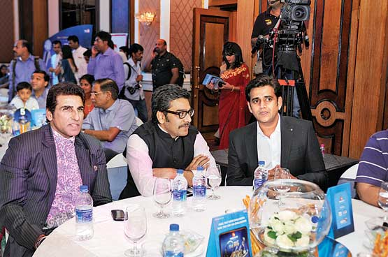 Mukesh Rishi, Ashutosh Rana and Ravi KIshan