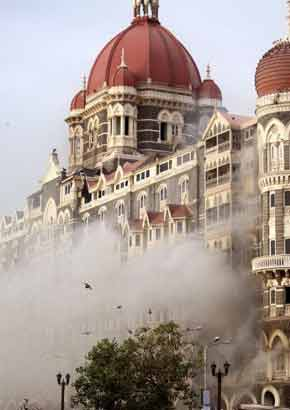 File photo of Hotel Taj in Mumbai on November 26, 2008.