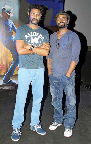 Prabhu Deva and Remo D�Souza came together for a dance 