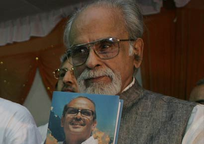 A file photo of IK Gujral