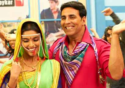 A still from the film <i>Khiladi 786</i>