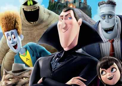 A still from the film <i>Hotel Transylvania</i>