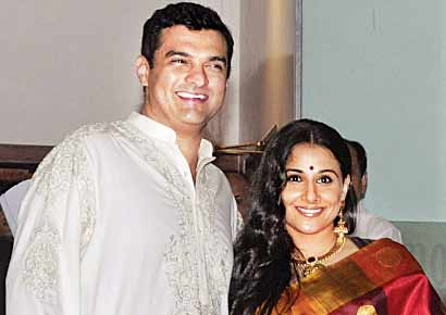 Vidya Balan and beau Siddharth Roy Kapur 