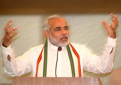 Narendra Modi set for hat-trick in Gujarat
