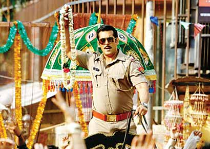 A still from <i>Dabangg 2</I>