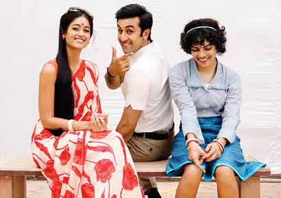 A still from the film <i>Barfi!</i>