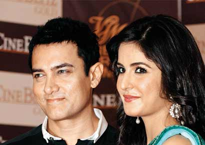 Aamir Khan and Katrina Kaif will be seen together for the first time in Dhoom 3