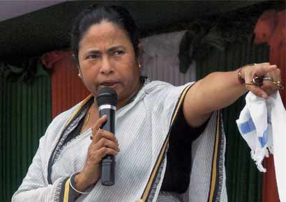 Trinamool Congress chief and chief minister of West Bengal, Mamata Banerjee
