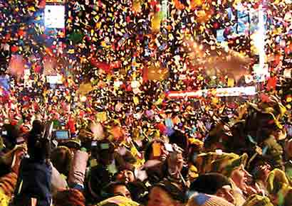 Hotels, parties on New Year in Bangalore