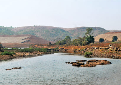 The Balganga dam