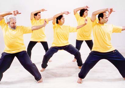Tai Chi helps us slow down internally