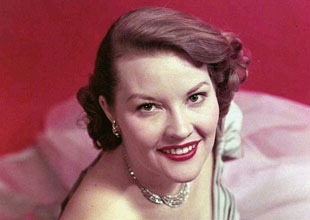 A portrait of Patti Page