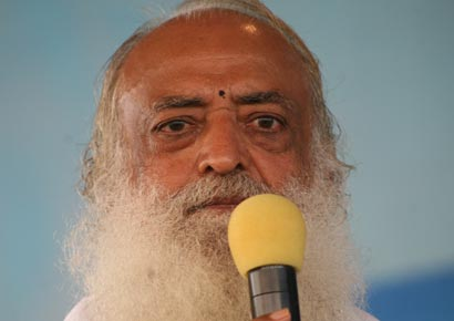 A file photo of Asaram Bapu