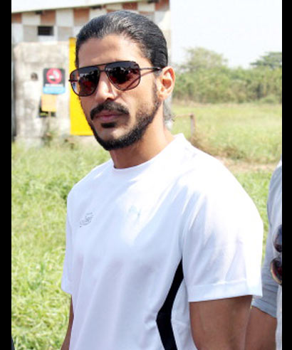 Bollywood actor, director Farhan Akhtar during the Mercedes Star Drive in Mumbai on December 1.