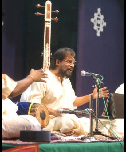 KJ Yesudas performs at concert at the Music festival in Chennai, Tamil Nadu in this file photo dated July 26, 2007.