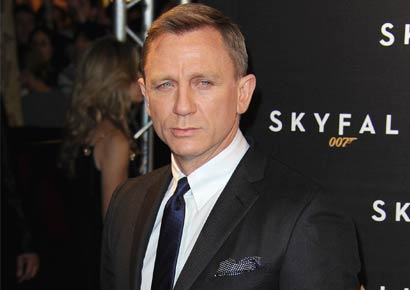 Daniel Craig who plays James Bond