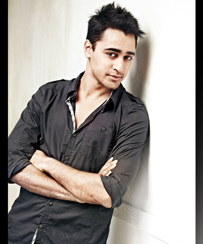Actor Imran Khan strikes a pose.